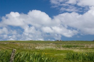 Orkney sky - polarised