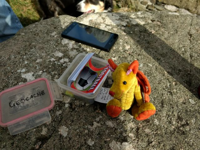 Ceridwen with the second cache