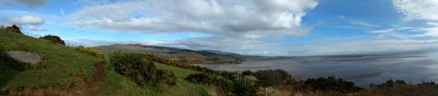 The panoramic view (what a clever phone)